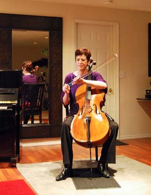 Deborah Ann Johnston at Cascade Cello Studio